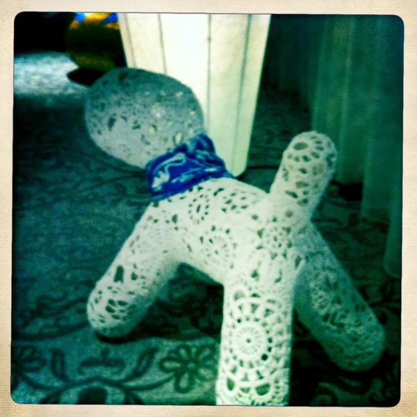 Marcel Wanders Dog ornament sculpture - Marcel Wanders studio Amsterdam