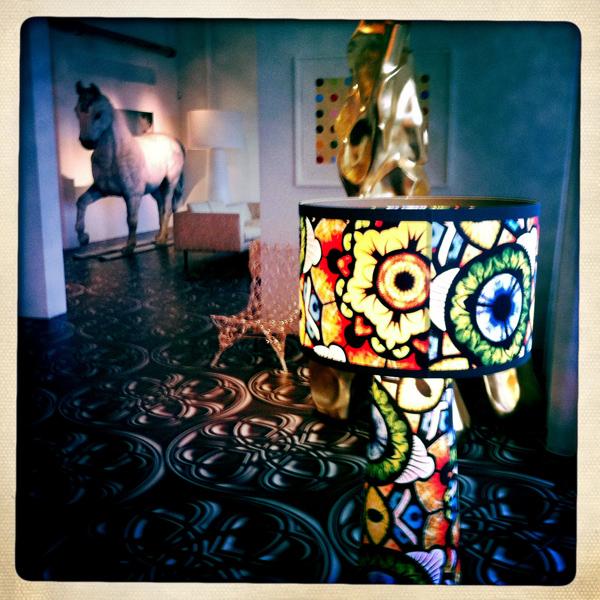 Marcel Wanders Lampshade and horse - Marcel Wanders studio Amsterdam
