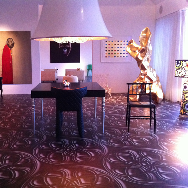 Marcel Wanders Studio meeting room - Mancel Wanders wallpaper studio