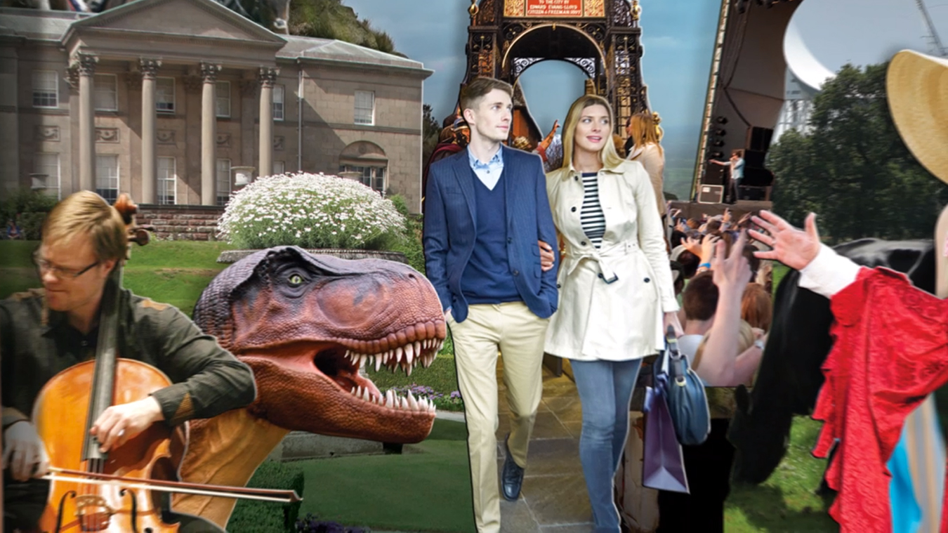 Visit Chester and Cheshire Tourism Animation