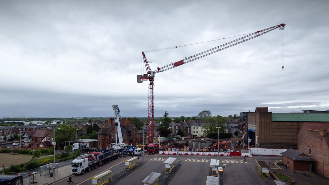 Chester Re:NEW - Tower Crane Timelapse