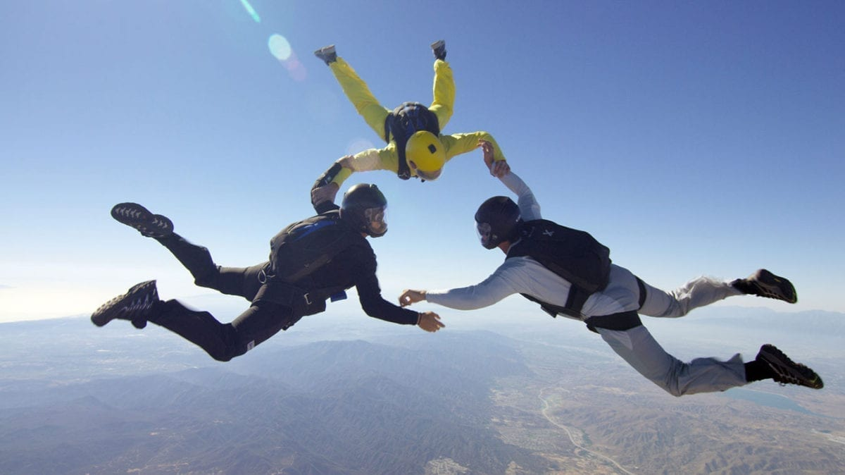 Imerys - online video production - Skydive online Film California