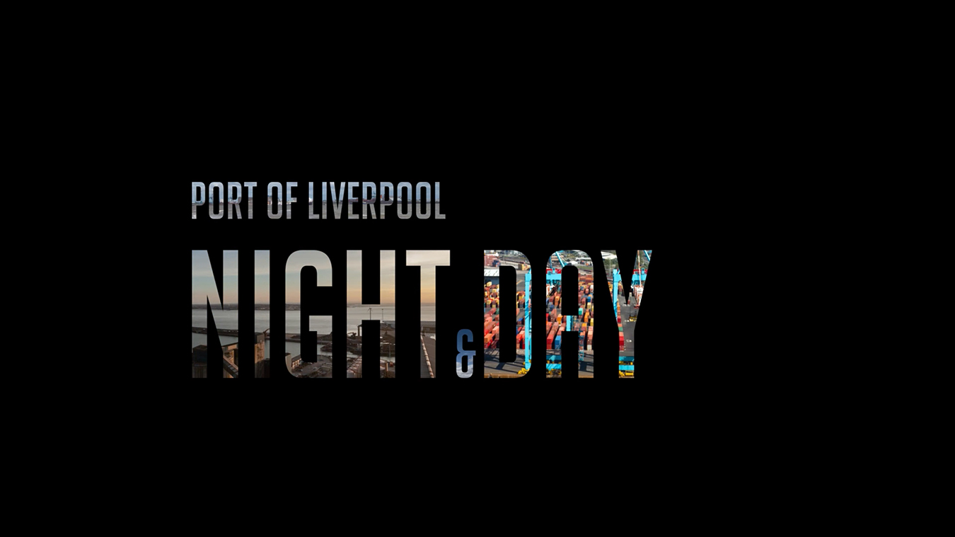 Peel Ports Night and Day Timelapse
