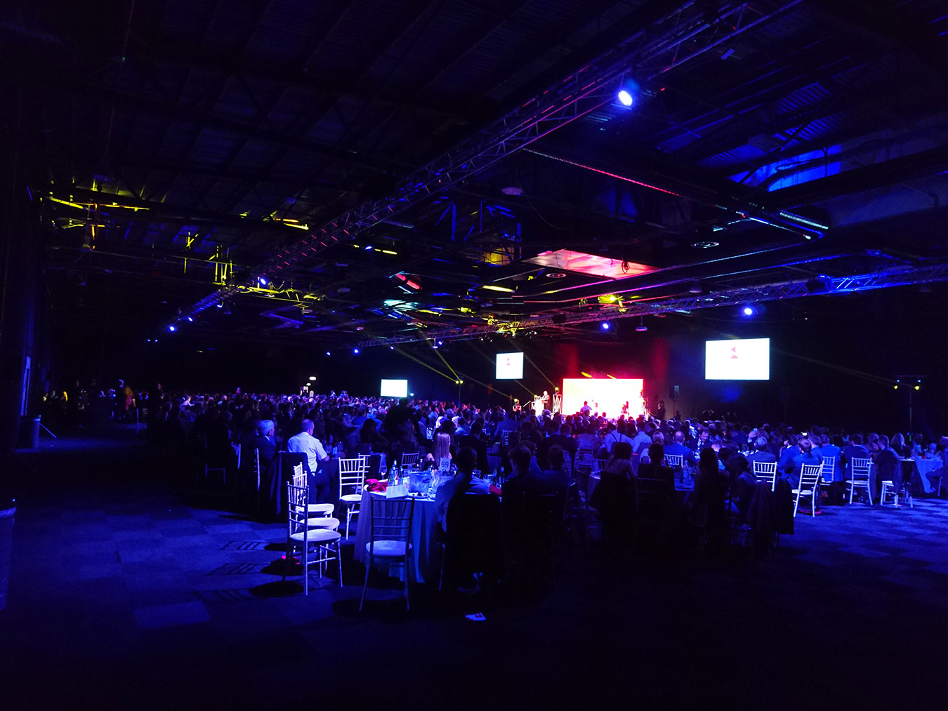 Video Production Awards Manchester - Prolific North Awards Stage Manchester