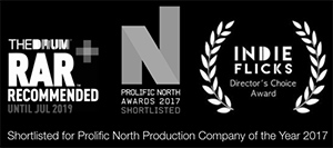 Award Winning Production Company Manchester and Chester - Award logos