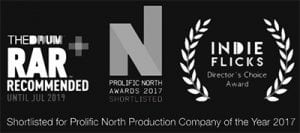 Video Production Company Manchester - Prolific North RAR recommended Indie Flicks Logos